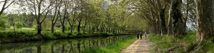 A walk along the Canal du Midi