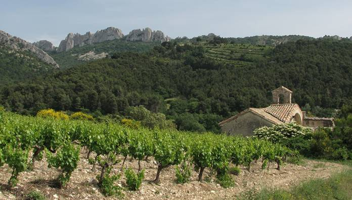The Saint-Cosme chapel, Gigondas - Gigondas, Provence-Alpes-Cote-dAzur